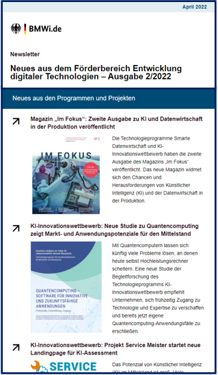 Preview-Bild des Newsletters