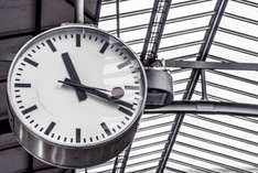 Bild zeigt eine Uhr