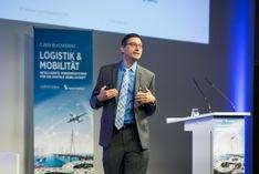 Volker Markl auf der Zeit Konferenz Logistik & Mobilität