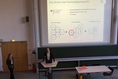 Dr. Ing. Alexander Lenk, Leiter der Begleitforschung vom FZI Forschungszentrum Informatik beim Workshop in Cottbus