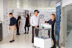 Auf einer Veranstaltung des Forum Digitale Technologien