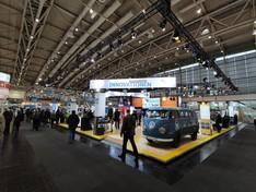 Dieses Bild zeigt es Panorama des BMWi-Gemeinschaftsstandes auf der Hannover Messe.