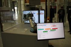 Dieses Bild zeigt den im Projekt OpenServ4P entwickelten Demonstrator.