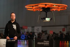 DRONEMASTERS Summit CeBIT 2016