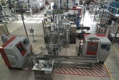 InnoCyFer - Gesamtaufbau Modellfabrik