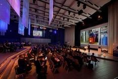 """Dr. Alexander Tettenborn, Leiter des Referats """"Entwicklung konvergenter IKT"""" im BMWi, bei seinem Vortrag auf der APPsist-Fachkonferenz """"Intelligente Wissensdienste in der Smart Production"""""""