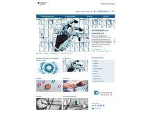 Screenshot Website Digitale Technologien