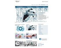 Screenshot Website Digitale Technologien