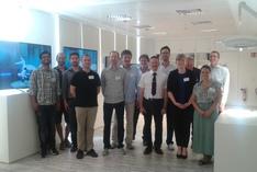 Teilnehmerinnen und Teilnehmer der Kick-off-Veranstaltung am 24. Juni 2016 im Smart Data Forum in Berlin