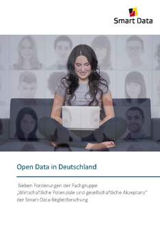 Cover Broschüre Open Data