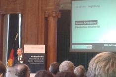 Hannes Schwaderer, Präsident der Initiative D21 e.V.