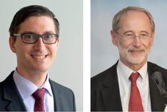 Prof. Dr. Volker Markl und Prof. Dr. Dr. Stefan Jähnichen