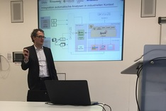 """Dr. Simon Becker leitet das Smart-Data-Projekt """"PRO-OPT – Big-Data-Produktionsoptimierung in Smart Ecosystems"""" und ist Product Portfolio Architect bei Software DSA Daten- und Systemtechnik GmbH"""