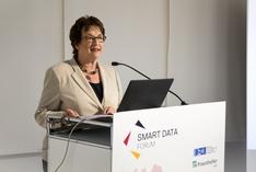 Brigitte Zypries eröffnet Smart Data Forum