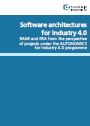 Cover der Broschüre Software architectures for Industry 4.0
