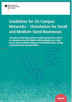 "Cover ""Guidelines for 5G Campus Networks"""