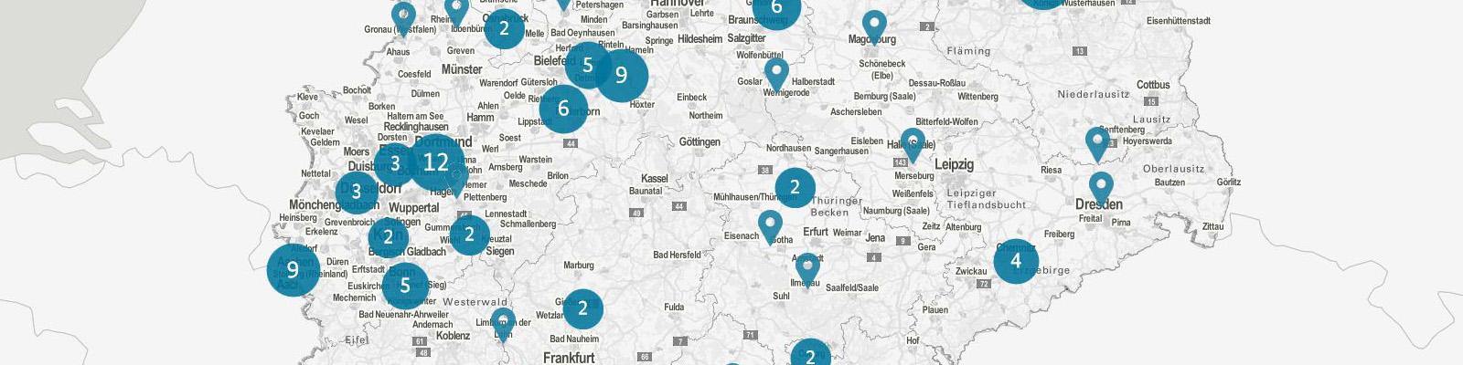 Landkarte Industrie 4.0