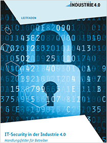 Cover der Publikation IT-Security in der Industrie 4.0