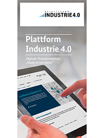 Cover der Publikation Plattform Industrie 4.0