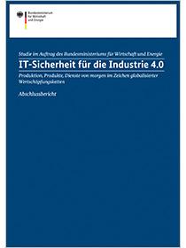 Cover der Studie IT-Sicherheit für Industrie