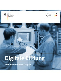 Cover der Publikation Themenheft Mittelstand-Digital