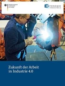 Cover der Publikation Zukunft der Arbeit in Industrie 4.0